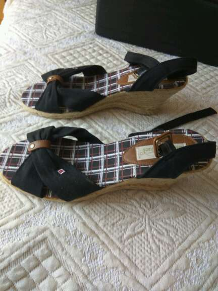 Imagen sandalias de cuña