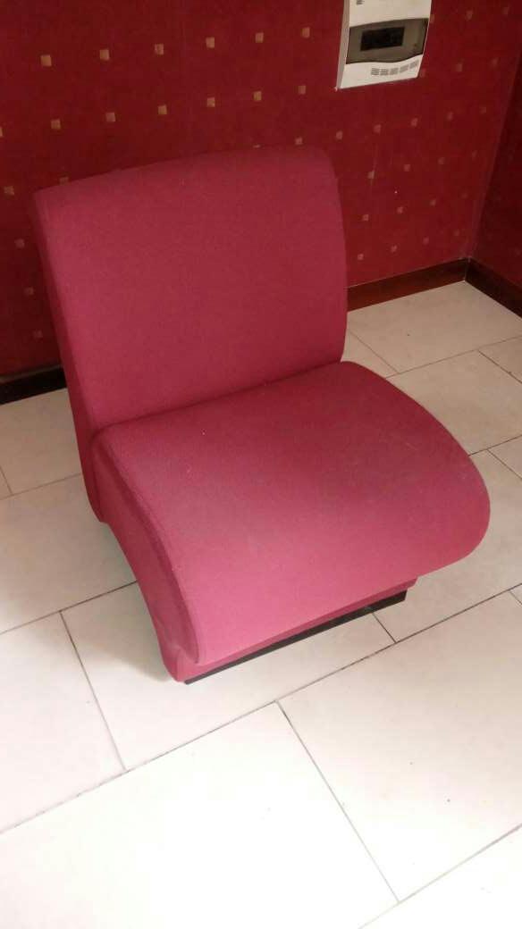 Imagen sillones cómodos granate