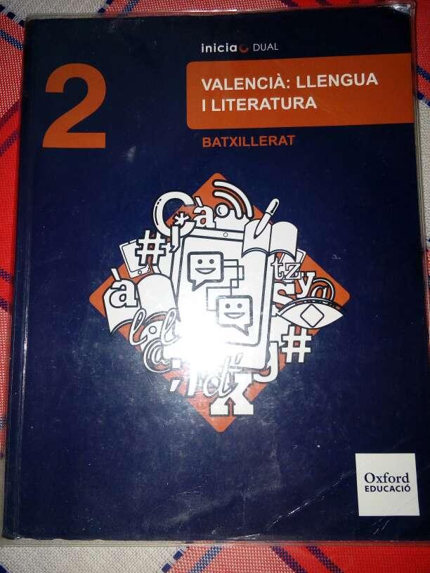 Imagen Libro Valenciano 2°Bachillerato