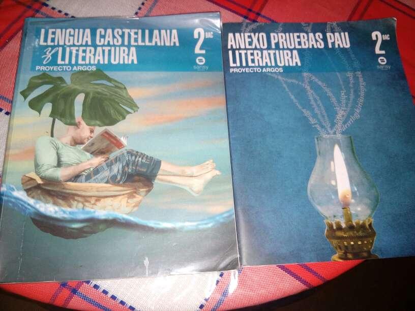 Imagen Libro + Anexo Castellano 2° de bachillerato