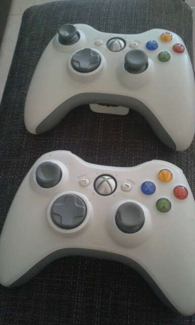 Imagen producto Xbox 360 + 2 mandos + juehos 2