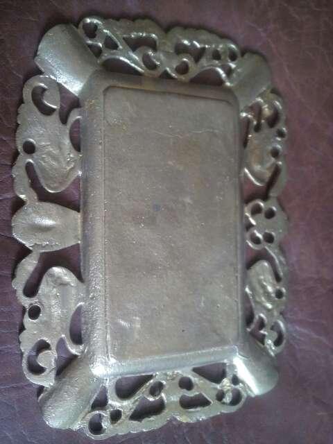 Imagen producto Bandeja decorativa de bronce 3