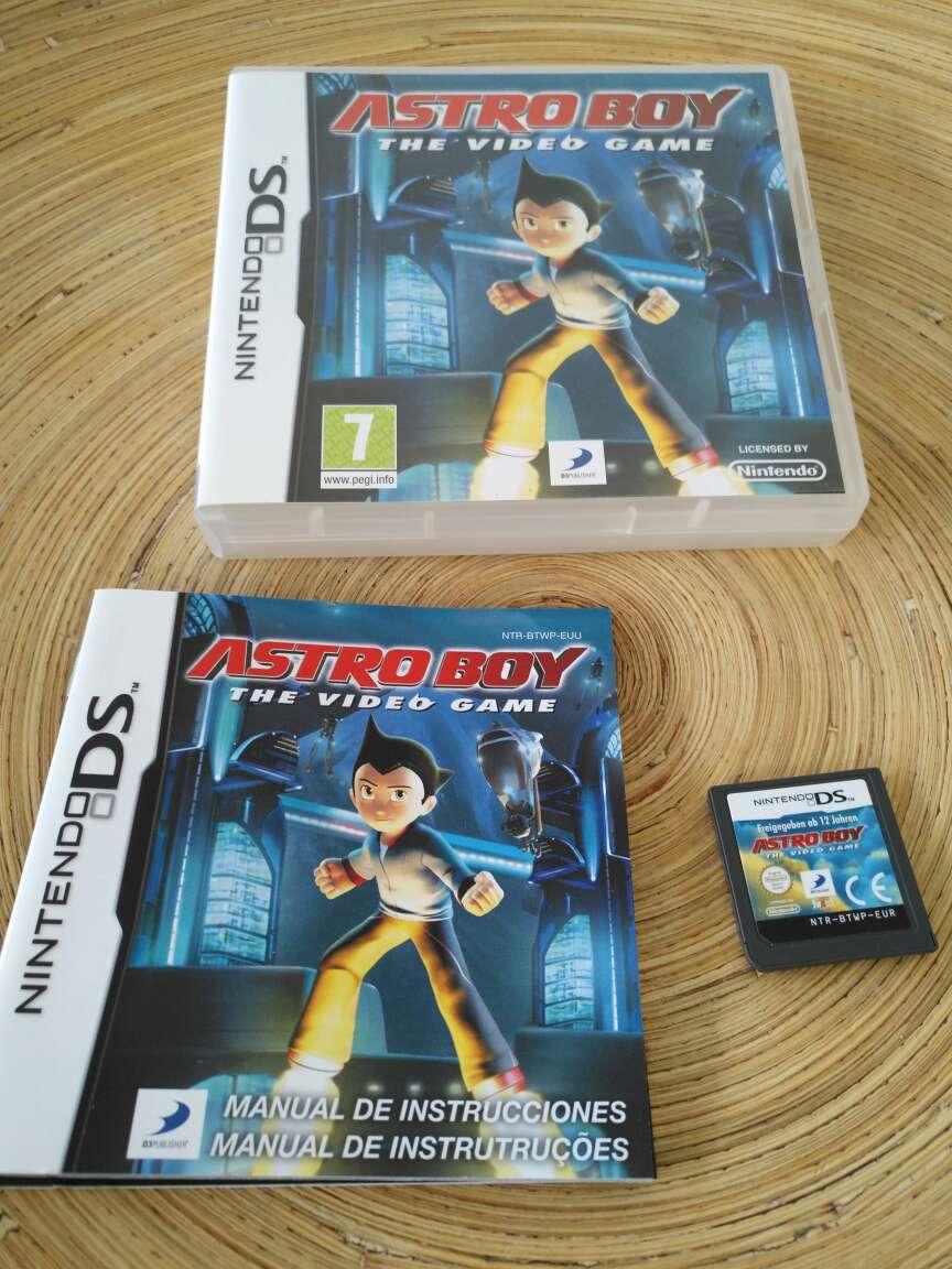 Imagen Juego Nintendo DS - Astro Boy the Videogame