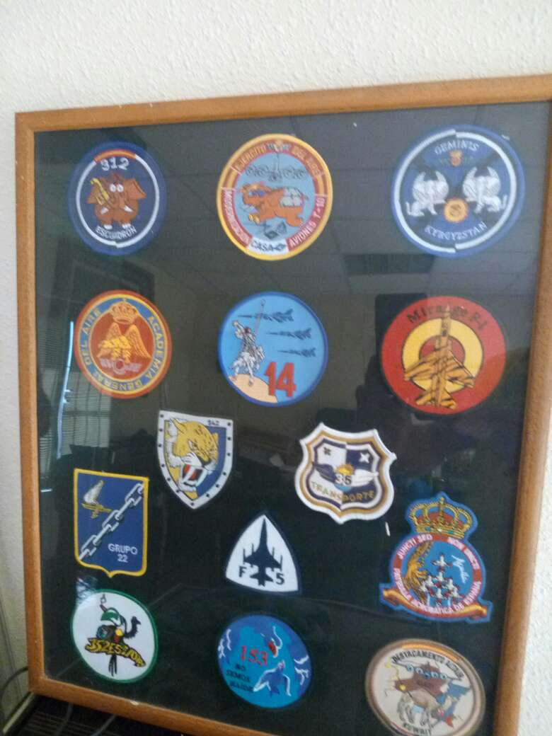 Imagen emblemas de aviación