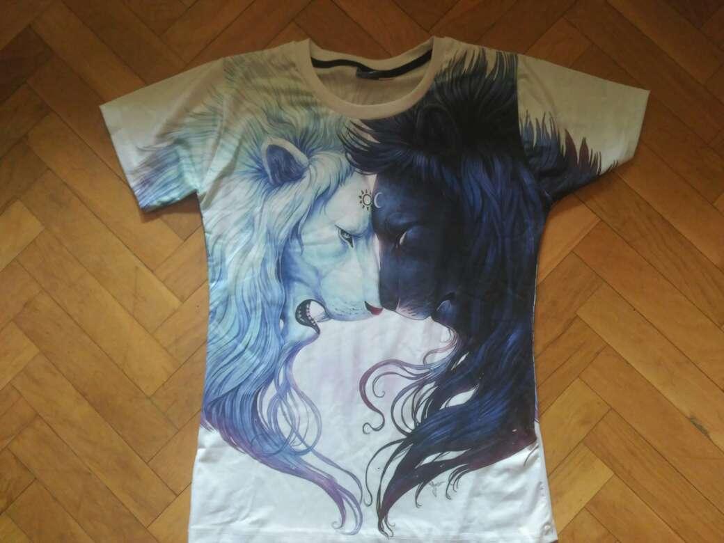 Imagen camiseta leones