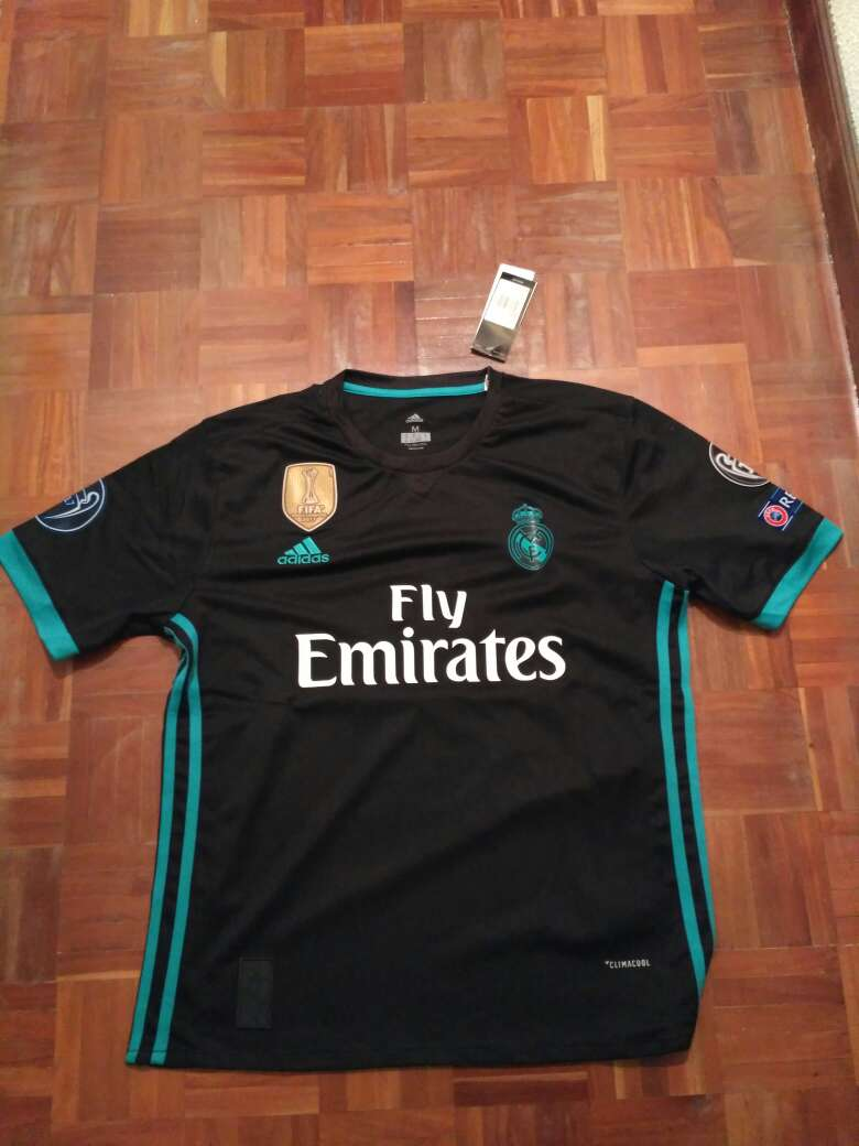 Imagen camiseta real Madrid 2017