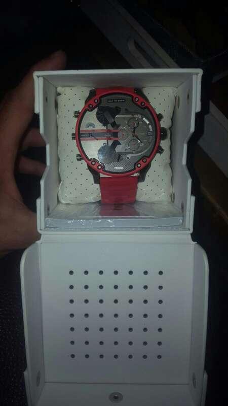 Imagen producto Reloj Diésel Rojo 4