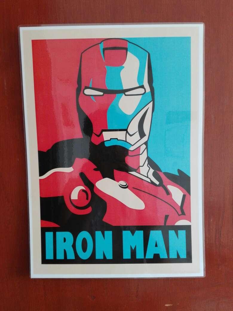 Imagen Replica del cuadro de Iron Man