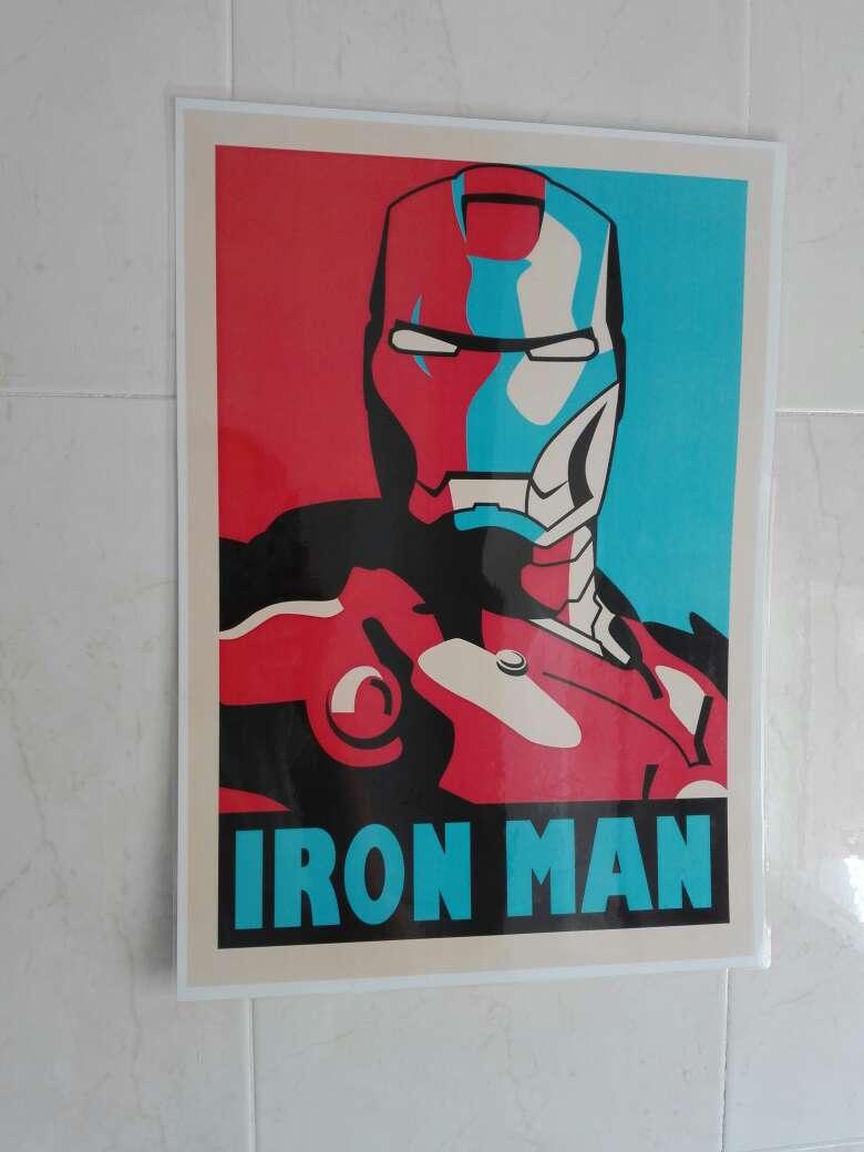 Imagen producto Replica del cuadro de Iron Man 3