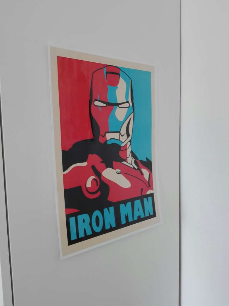 Imagen producto Replica del cuadro de Iron Man 2