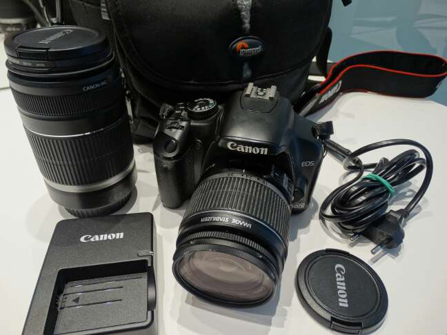 Imagen Cámara Reflex Canon 450D