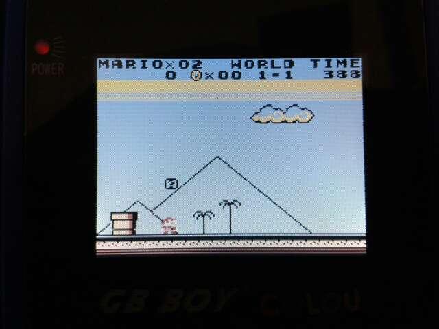Imagen producto GB Boy Colour Clónica Game Boy Color 2