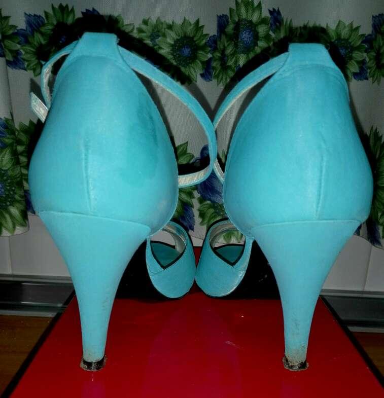 Imagen producto Zapatos turquesa mujer 3