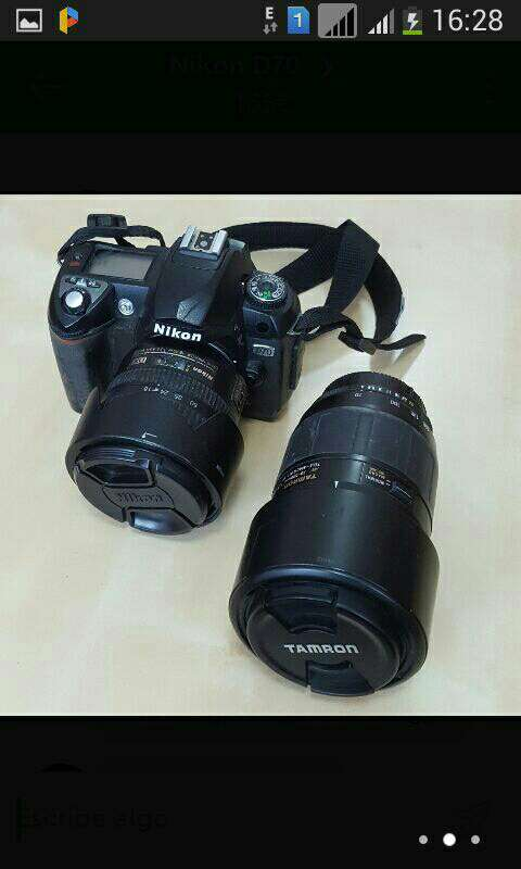 Imagen cámara digital Nikon