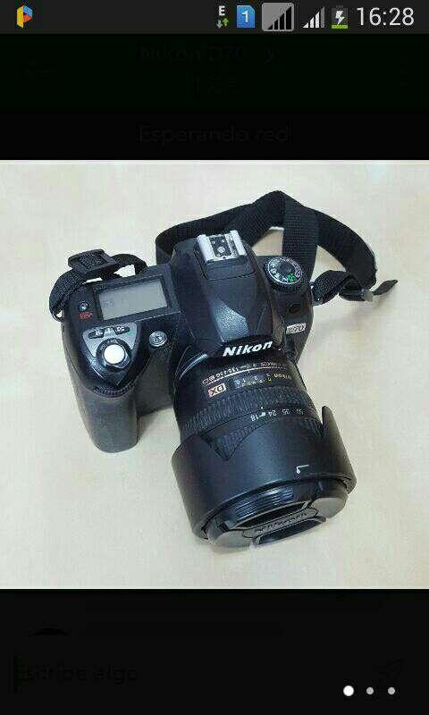 Imagen producto Cámara digital Nikon 3