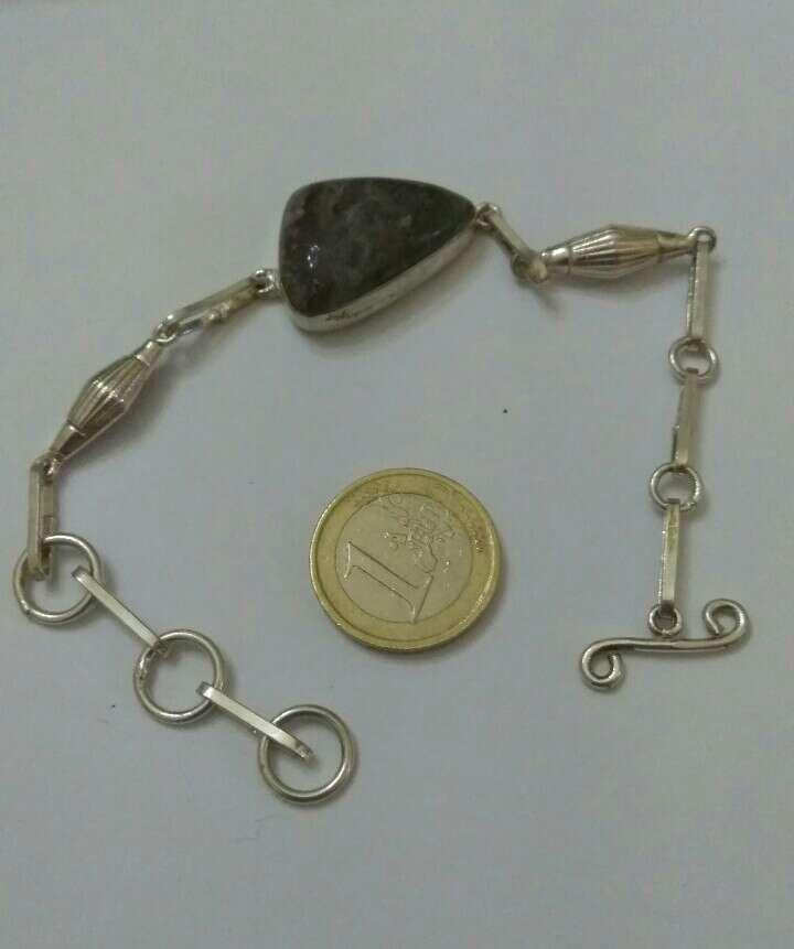 Imagen pulsera baño plata