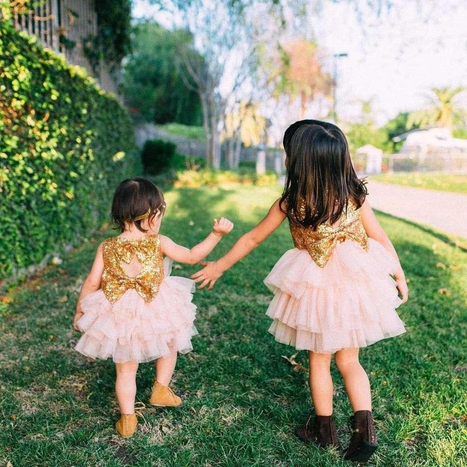 Imagen vestido de fiesta para niña