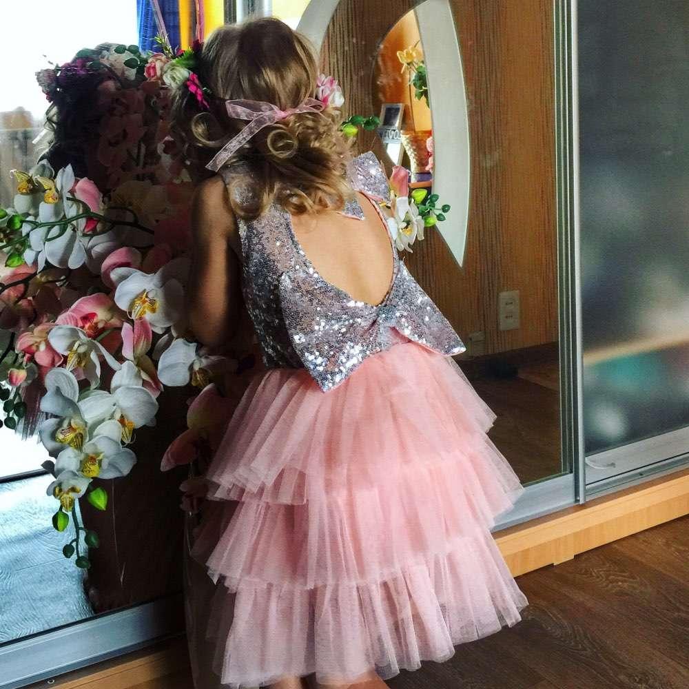 Imagen producto Vestido de fiesta para niña  2