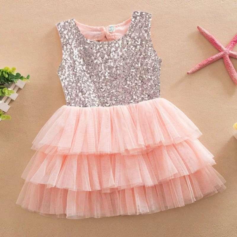 Imagen producto Vestido de fiesta para niña  3