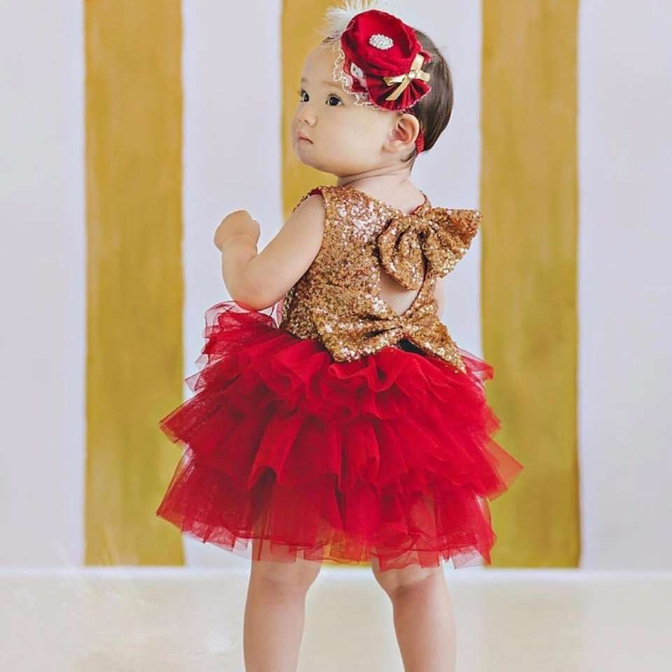 Imagen producto Vestido de fiesta para niña  4