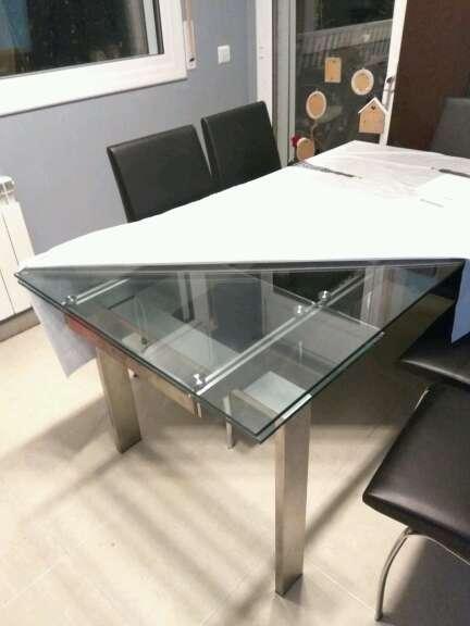 Imagen Mesa de cristal para comedor