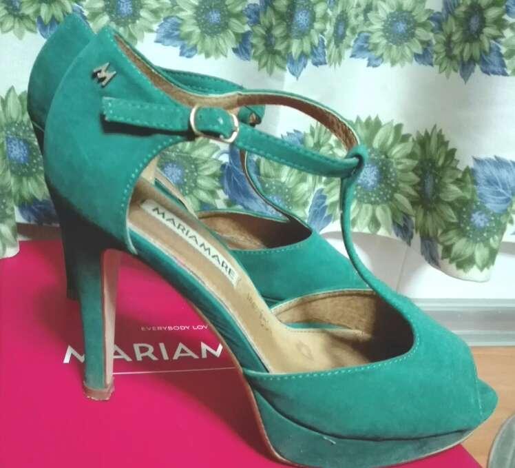 Imagen producto Zapatos verde mujer 2