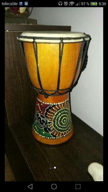 Imagen Djembe africano de madera