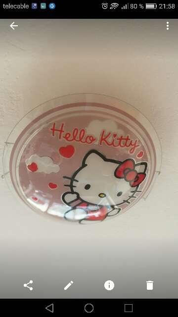 Imagen Plafón Hello Kitty