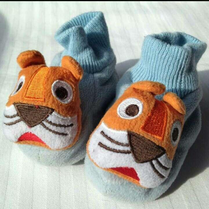 Imagen Zapatillas peluche tigres