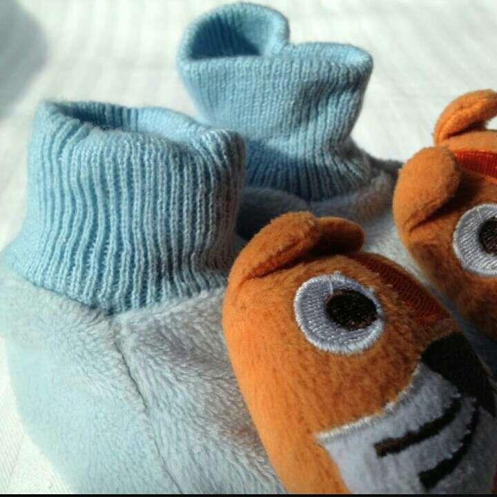 Imagen producto Zapatillas peluche tigres  4