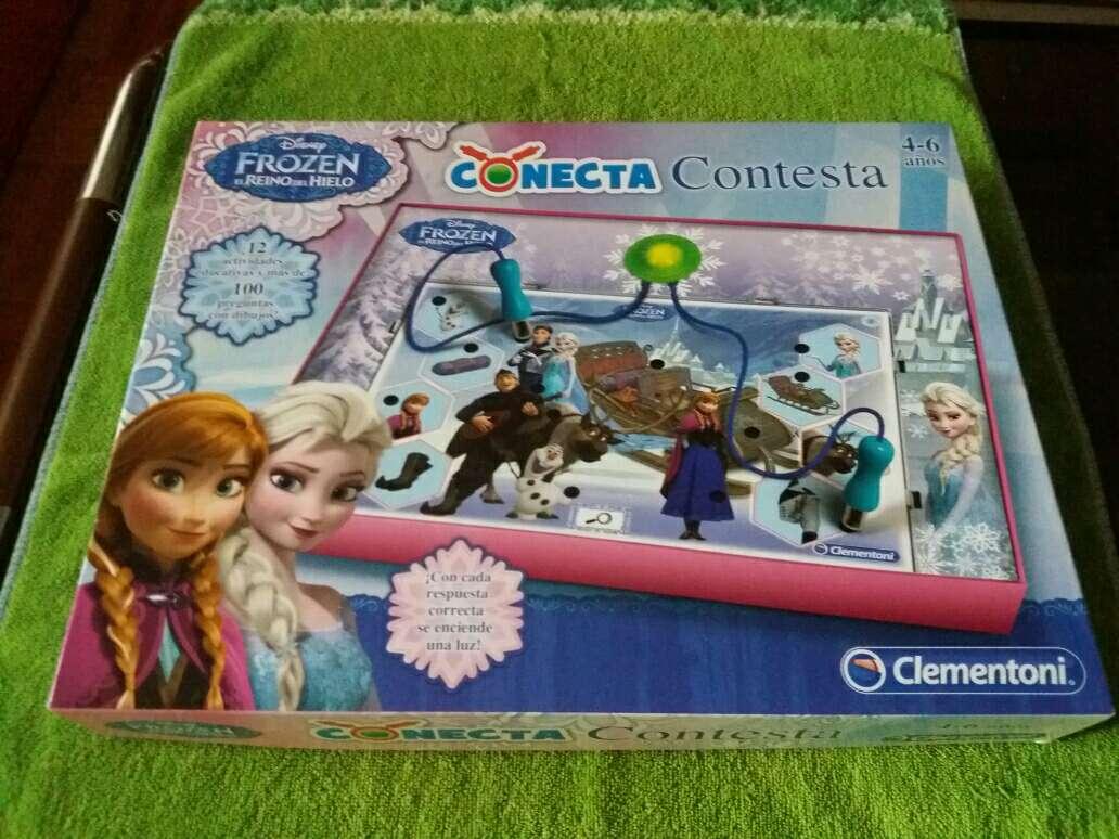 Imagen conecta 4 frozen