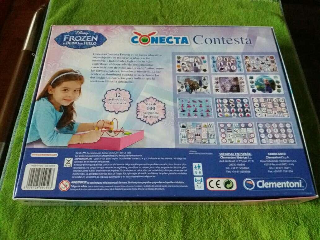 Imagen producto Conecta 4 frozen 2