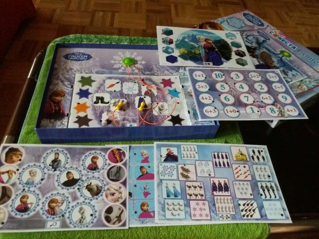Imagen producto Conecta 4 frozen 3