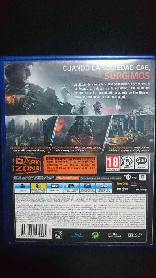 Imagen producto Tom Clancy's The Division 2