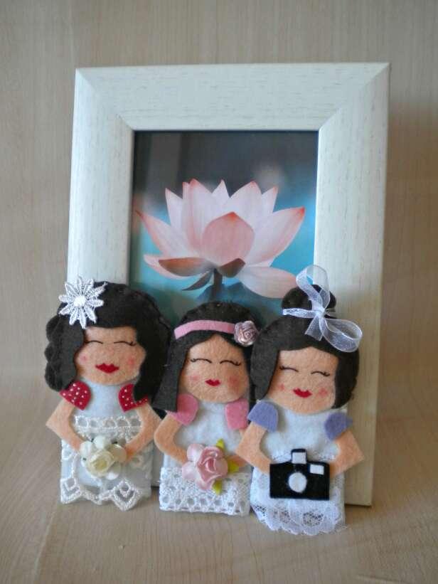 Imagen producto Títeres para bodas. 2