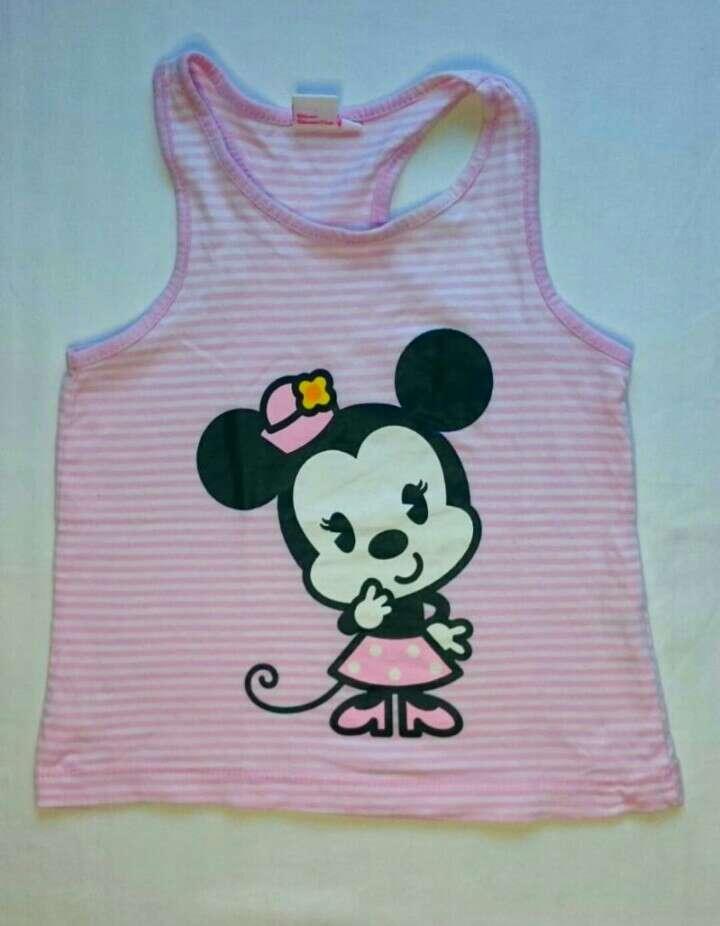 Imagen producto Camiseta Minnie Jeans lentejuelas  3