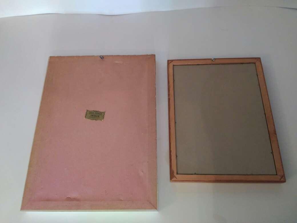 Imagen producto Cuadros marcó madera 2