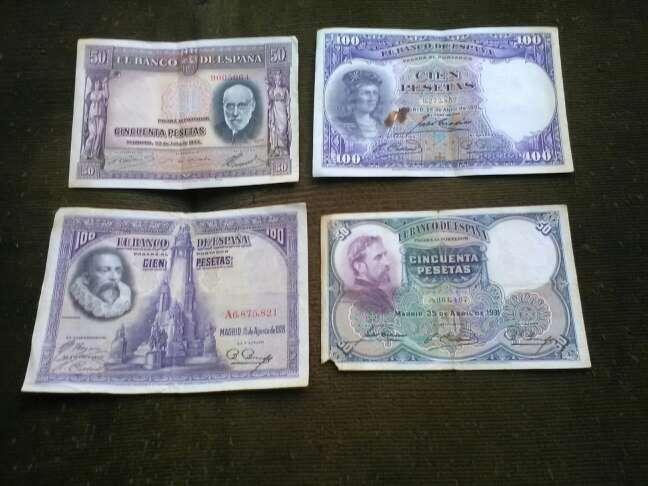 Imagen billetes antiguos