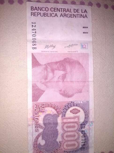 Imagen billete argentino