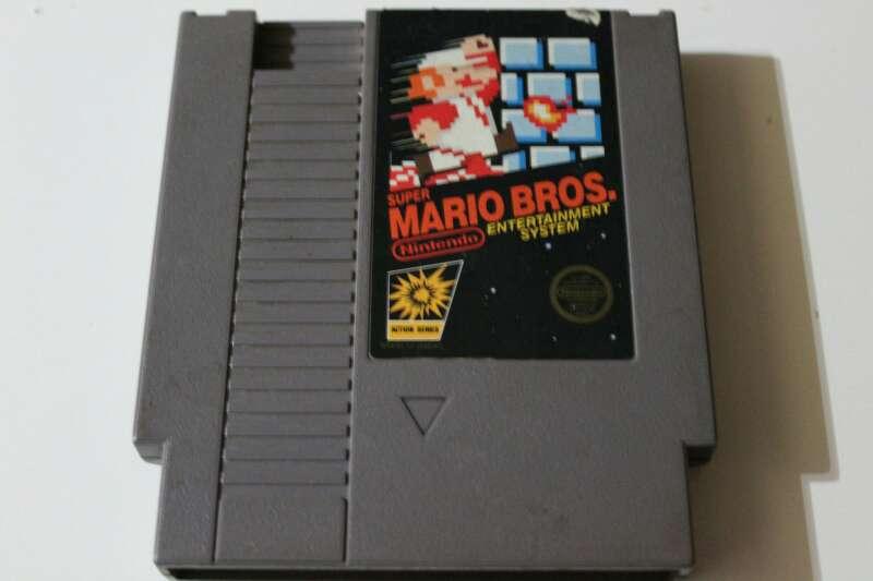 Imagen super Mario bros Nintendo