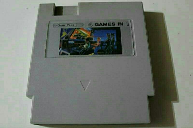 Imagen Nintendo nes 4 en 1