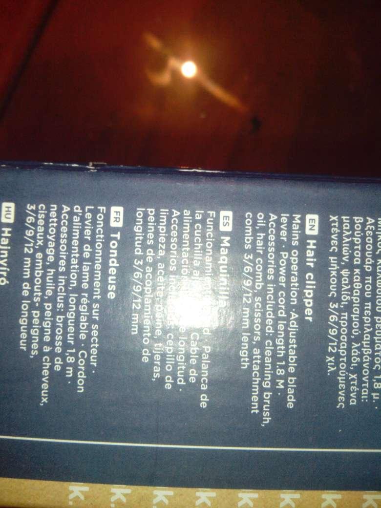 Imagen producto Maquina Cortar Pelo OK! 3