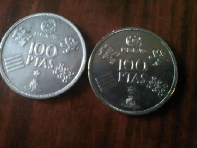 Imagen dos monedas de pesetas