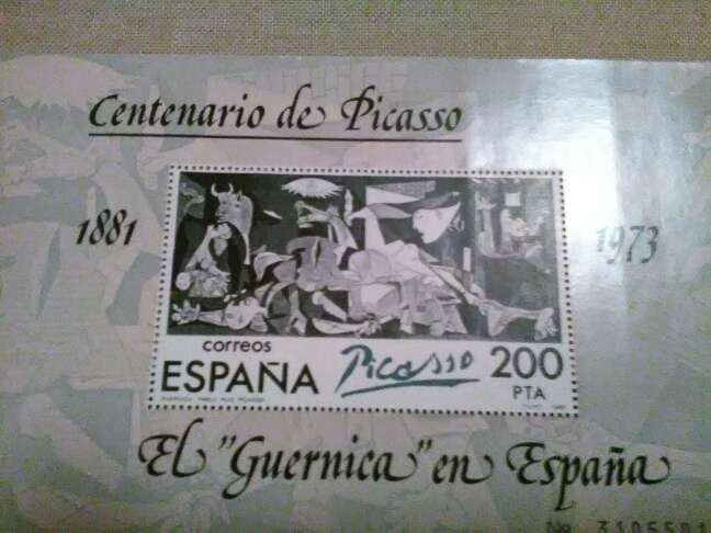 Imagen sello doscientas pesetas