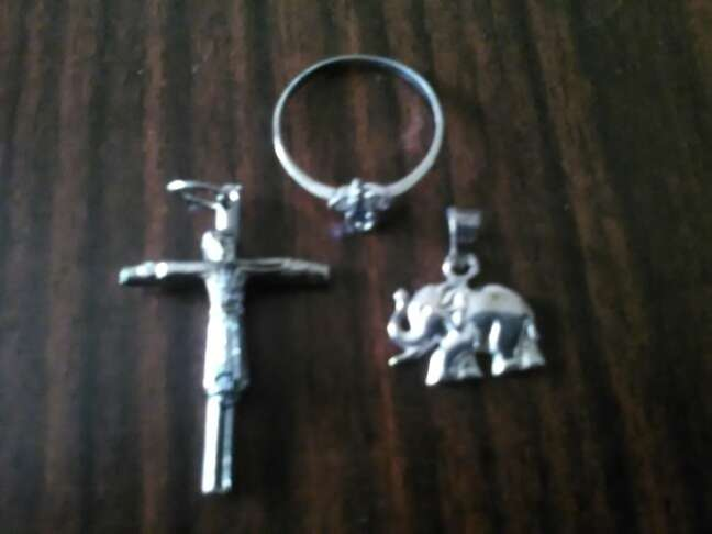Imagen tres piezas plata