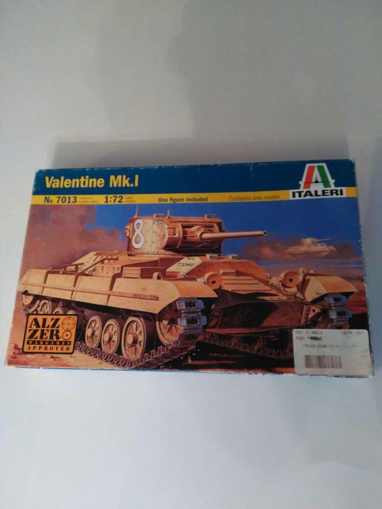 Imagen carro de combate Valentine mk1