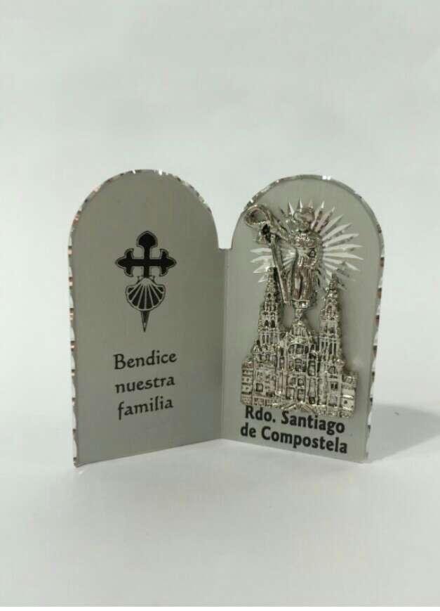 Imagen díptico de la catedral de Santiago