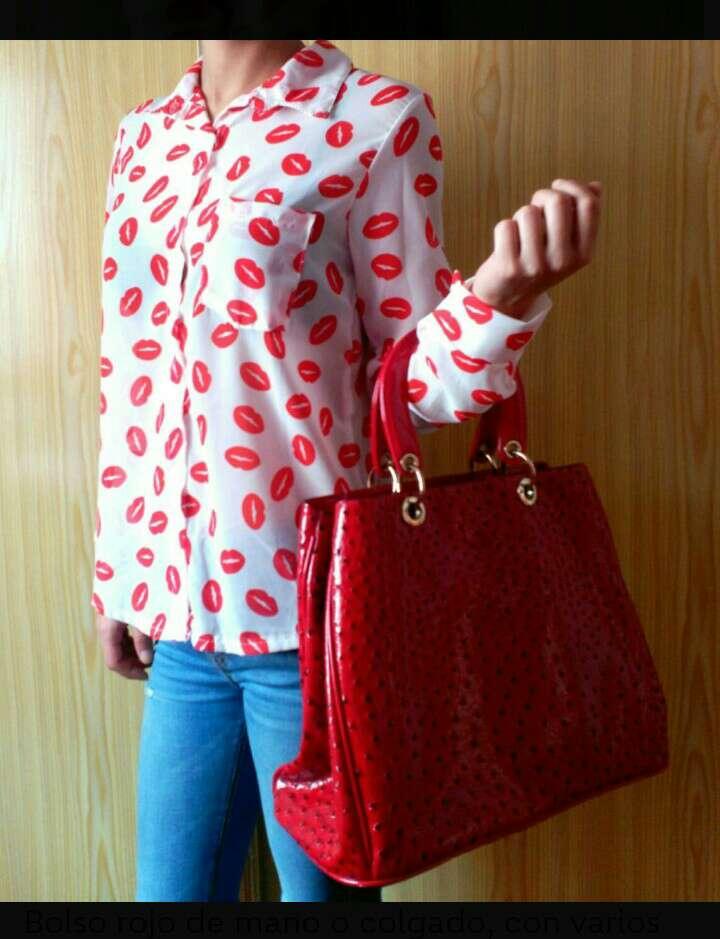 Imagen producto Bolso grande rojo 2