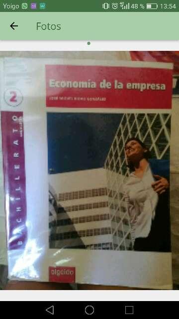 Imagen Libro economía
