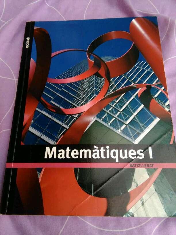 Imagen Libro de matemáticas (1 bachillerato)